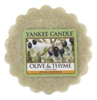 Vonný vosk Yankee Candle OLIVE & THYME